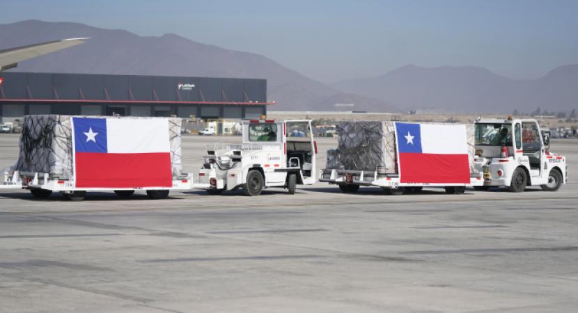 218 ventiladores mecánicos llegan a nuestro país desde China y Holanda
