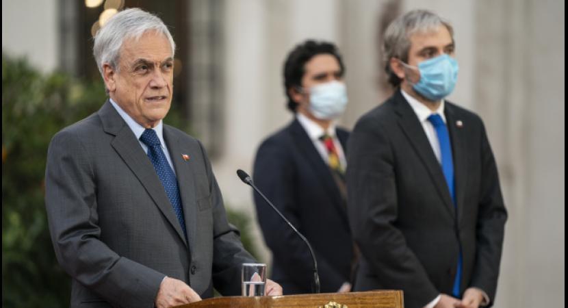 Presidente Sebastián Piñera promulga ley que limita la reelección de autoridades
