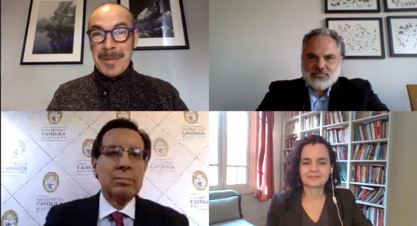 UCEN realizó conversatorio 'Alcances de los cambios que se avecinan: la nueva fisonomía de las universidades'