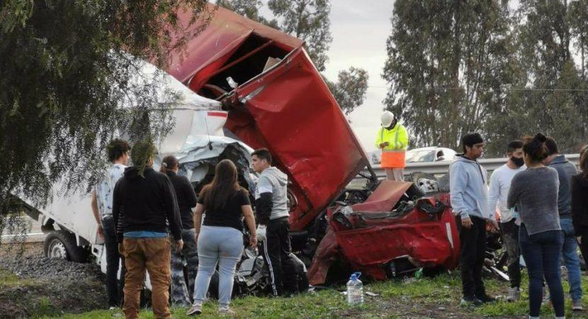 Grave accidente de tránsito en Melipilla deja cinco victimas fatales