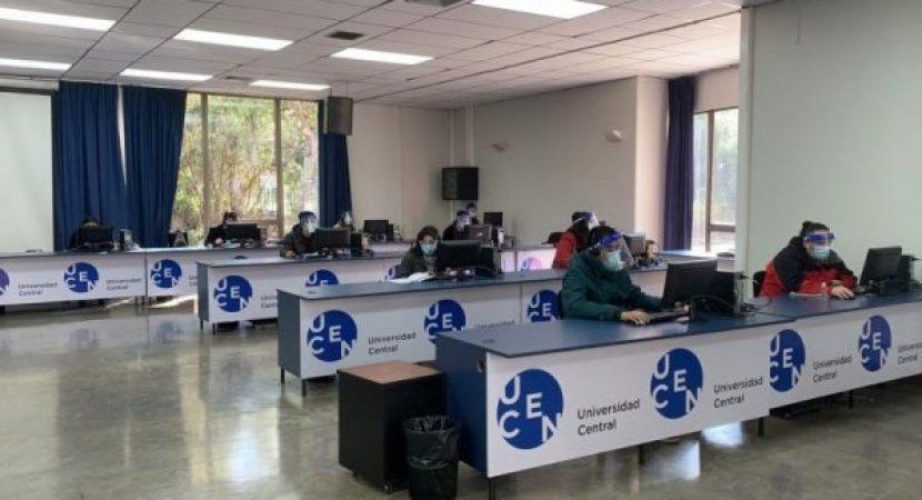 Centro de Trazabilidad cumple un mes en la UCEN