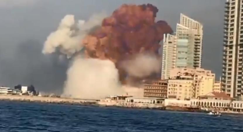 Explosión en Beirut deja cientos de heridos y un número no determinado de fallecidos