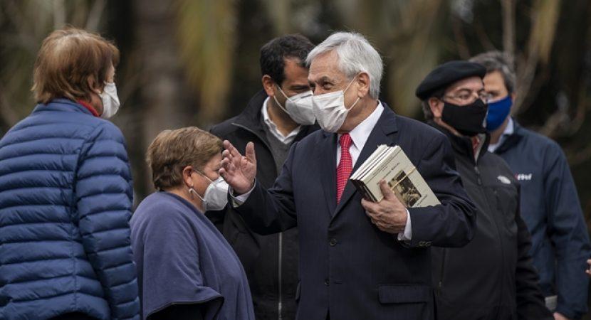 Presidente Sebastián Piñera presenta comité social para apoyar a los sectores más vulnerables