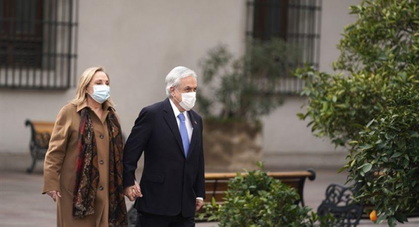 Presidente Sebastián Piñera y la primera dama cumplirán cuarentena por contacto estrecho de coronavirus