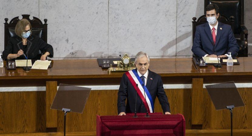 Cuenta Pública 2020: Presidente Piñera anuncia plan de reactivación para avanzar en recuperación de los 1,8 millones de empleos perdidos