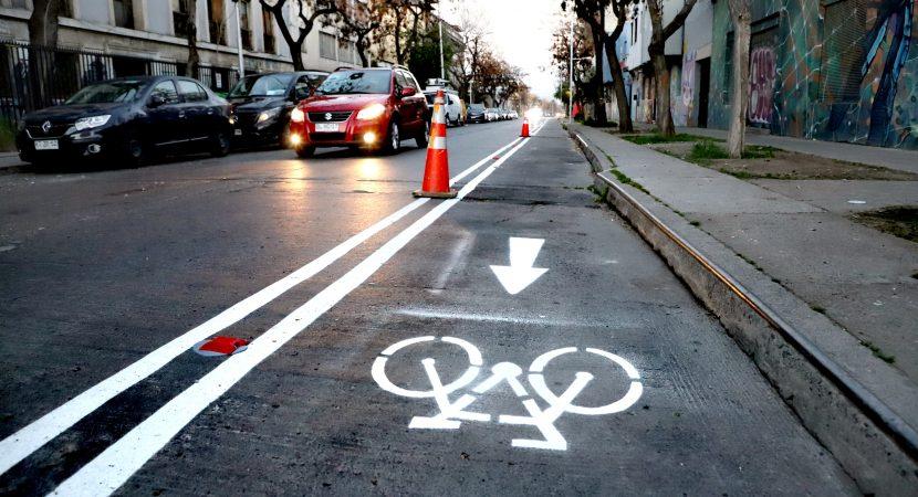 Santiago suma 15 kilómetros de ciclosendas en barrio Yungay para contar con red interconectada más grande del país