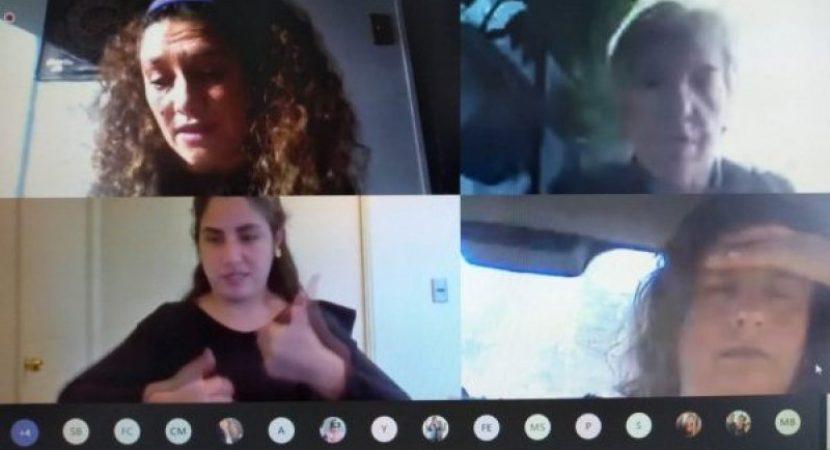 Conversatorio dirigido a egresados y egresadas entrega estrategias pedagógicas para estudiantes sordos