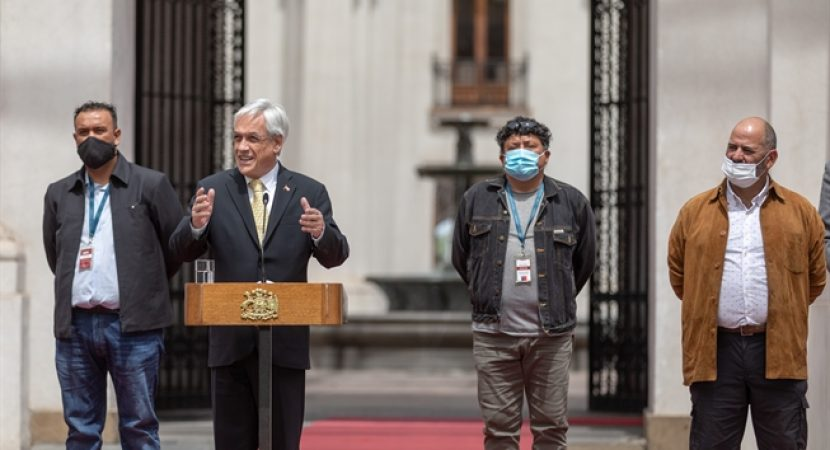 A 10 años del rescate de los 33 mineros: presidente Sebastián Piñera destaca avances en seguridad laboral