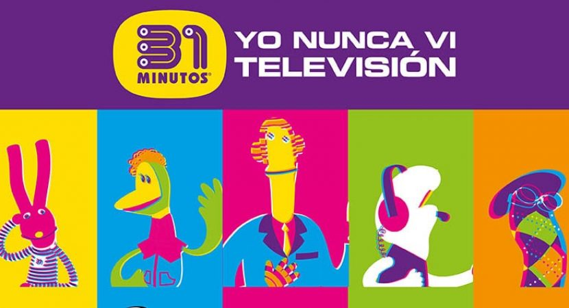 """31 Minutos vuelve al escenario con el lanzamiento vía streaming de su show """"Yo Nunca Vi Televisión"""""""