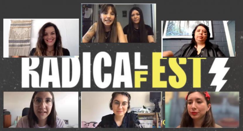 Exitosa y creativa versión online del Radical Fest para mujeres de la publicidad