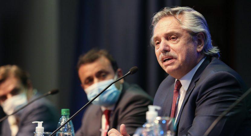 Presidente de Argentina Alberto Fernández cumple aislamiento preventivo por contacto estrecho con positivo a COVID-19