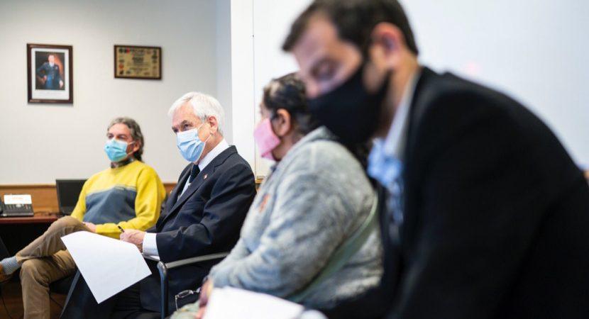 Presidente Sebastián Piñera visita la Región de La Araucanía y se reúne con víctimas de violencia en la zona