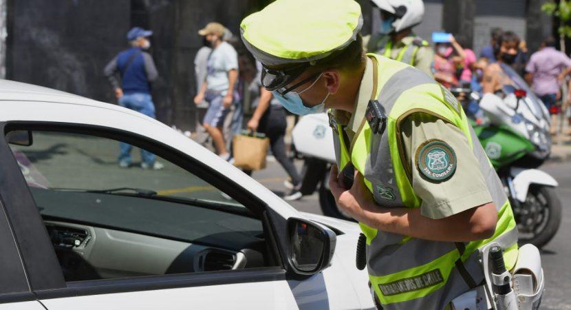 Más de 700 personas Covid positivo fueron sorprendidas en la vía pública durante fin de semana