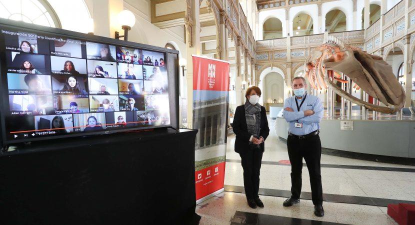 Inicia la versión número 50 de la Feria Científica Nacional Juvenil del Museo Nacional de Historia Natural