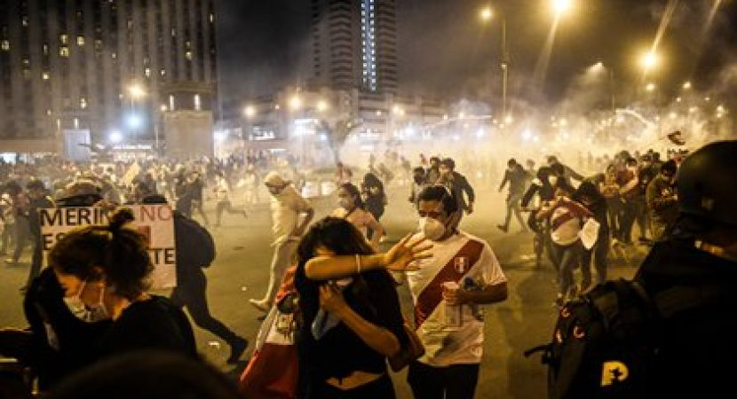 Renunciado presidente de Perú será investigado por fiscalía luego de muerte de dos manifestantes