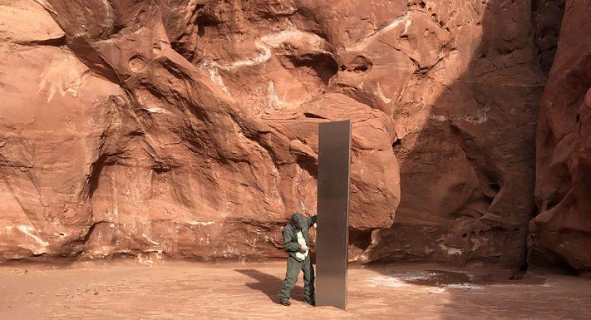 """""""Obelisco"""" es hallado en Estados Unidos y múltiples teorías salen a la luz"""
