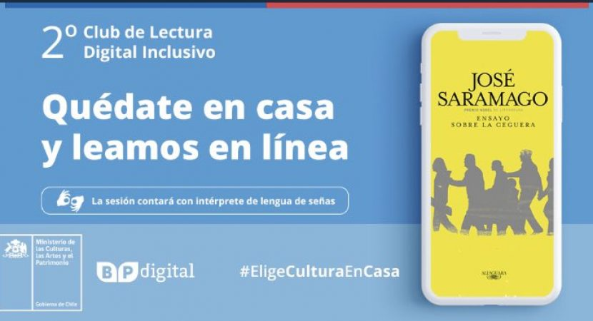 Biblioteca Pública Digital se prepara para el cierre de su segundo Club de Lectura Digital Inclusivo vía online