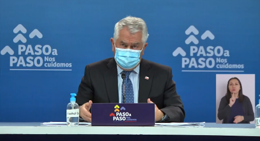 Chile vuelve a pasar la barrera de 7 mil nuevos casos diarios de Covid-19