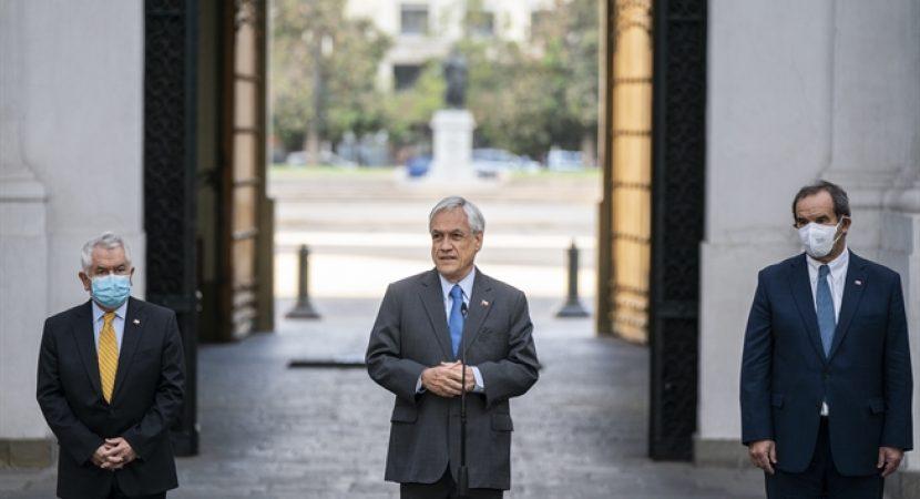 Presidente Piñera anuncia llegada de vacunas el jueves e inicio del proceso de vacunación en Chile