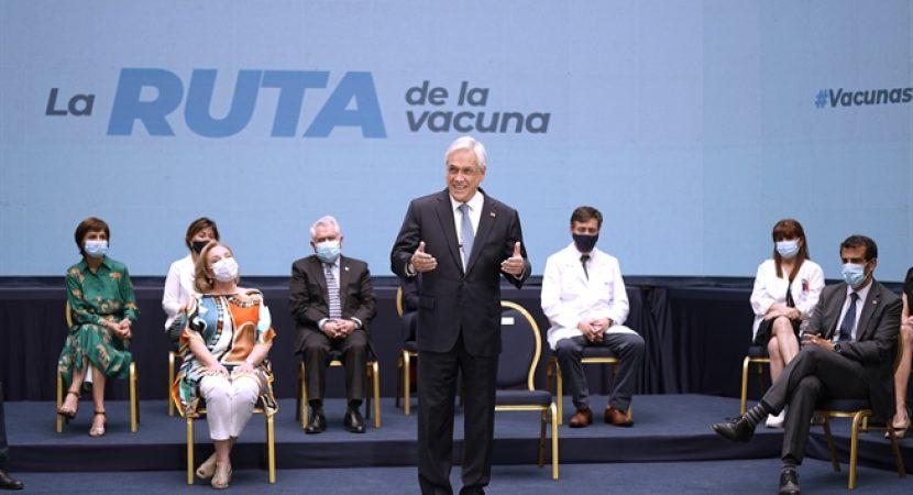 Presidente Piñera presenta detalles del plan de vacunación contra el COVID-19