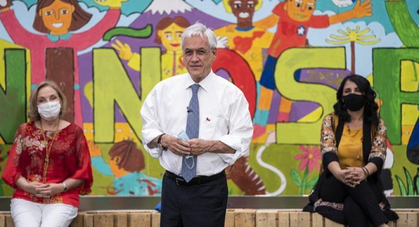 Presidente Piñera promulga ley que crea el nuevo Servicio de Protección de la Niñez