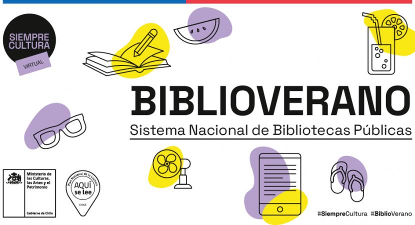 Servicio Nacional del Patrimonio Cultural impulsa versión digital de BiblioVerano 2021