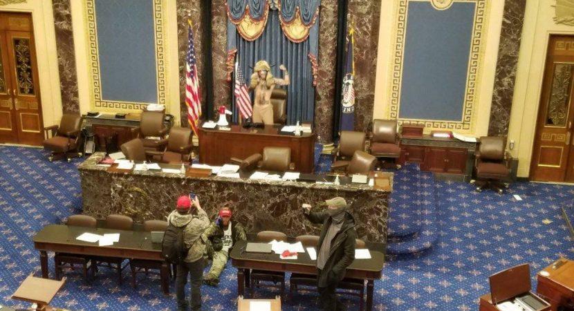 Incidentes en el Capitolio de Estados Unidos impiden toma de razón del presidente electo Joe Biden