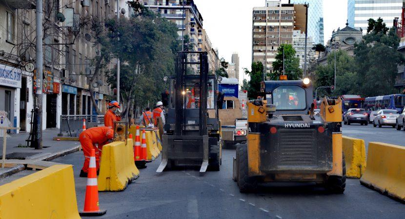 Ministerio de Transportes inicia remodelación de Santa Rosa – Mac Iver para priorizar circulación peatonal y de transporte público
