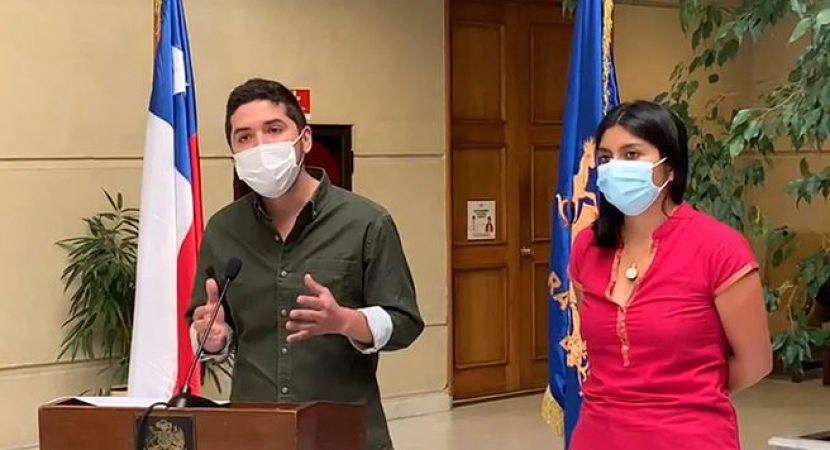 Diputados Camila Rojas y Juan Santana presentan agenda para la participación de niños, niñas y adolescentes en el proceso constituyente