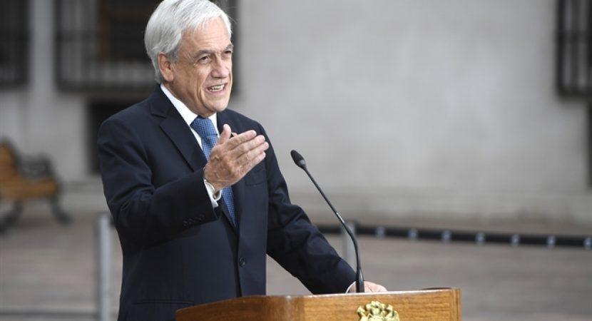 Presidente Sebastián Piñera anuncia inicio de pago de IFE Covid y Bono Covid para apoyar a familias afectadas por la pandemia