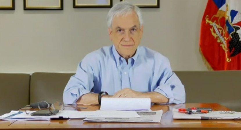 Presidente Piñera destaca llegada de 88 mil nuevas vacunas contra el Covid-19