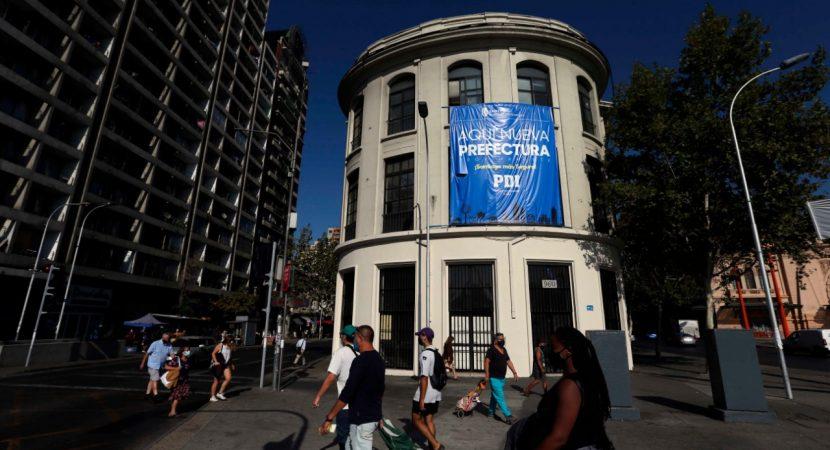 PDI instalará su Prefectura Metropolitana Centro Norte en el Edificio Bristol del Centro de Santiago
