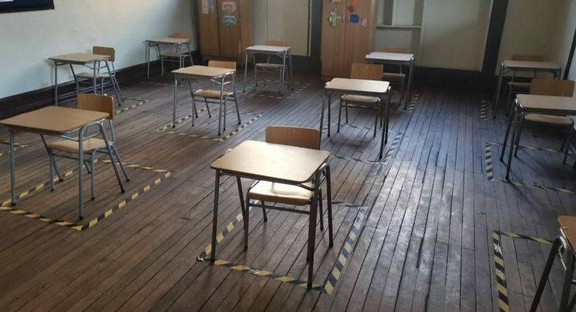 60% de los recintos educativos del país ha suspendido sus actividades  por avance de la pandemia