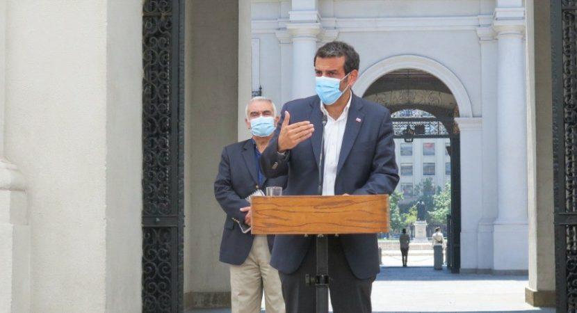 Ministro del Interior Rodrigo Delgado fue internado en Hospital de la Fach