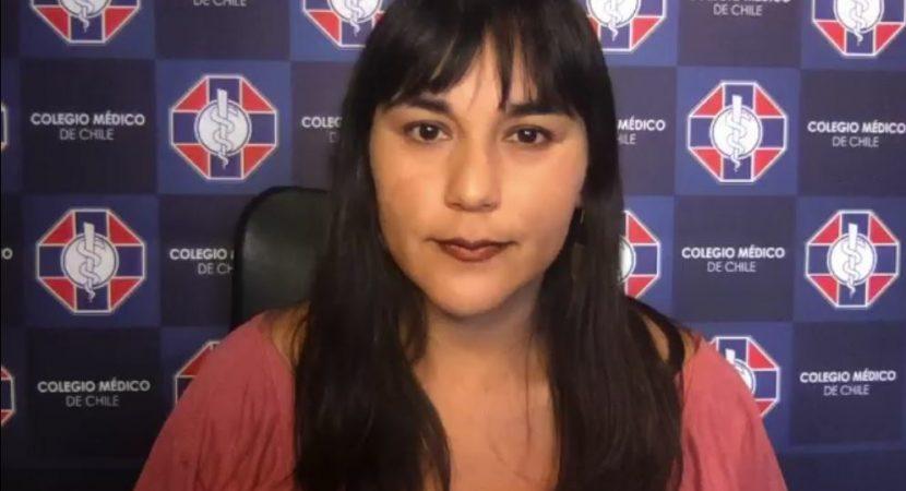 Presidenta del Colmed Izkia Siches pide disculpas por sus dichos en contra del Gobierno y llama a volver al diálogo