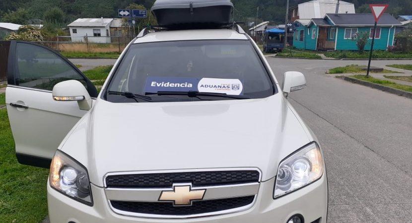 Turista viajaba ilegalmente en auto con franquicia para discapacitados