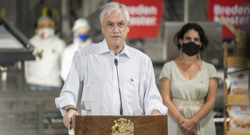 Presidente Sebastián Piñera anuncia nuevos beneficios para crear y proteger el empleo