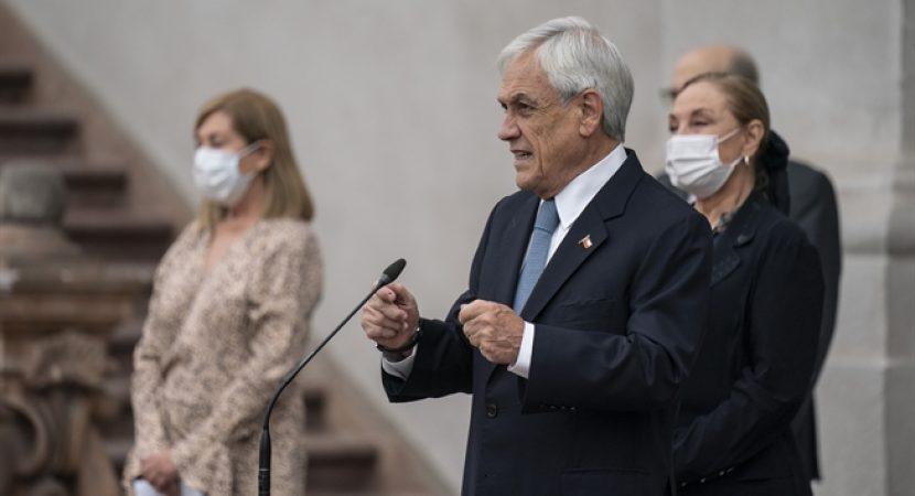 Presidente Sebastián Piñera anuncia transformación de TV Educa en canal cultural de TVN