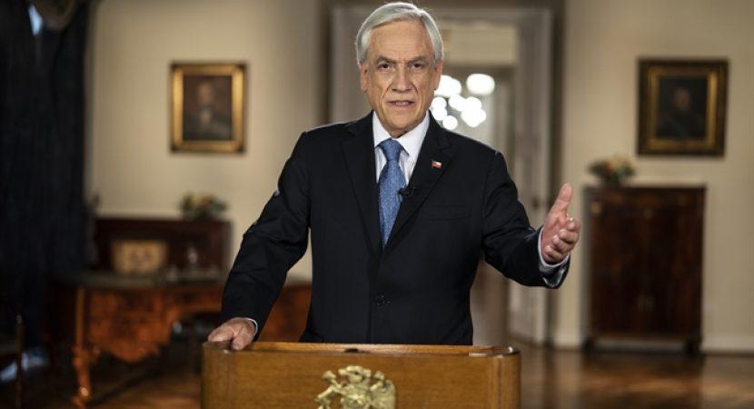 Presidente Sebastián Piñera anuncia mejoras al Sistema de Pensiones
