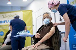 Presidente Sebastián Piñera da inicio a la campaña de vacunación contra la Influenza