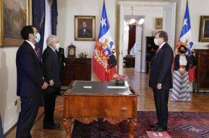 Presidente Sebastián Piñera nombra a Patricio Melero como nuevo Ministro del Trabajo y Previsión Social