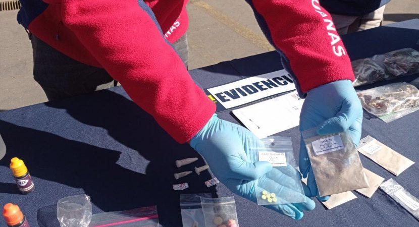 Procedimiento de Aduanas permite descubrir ingreso de nuevas drogas a Chile