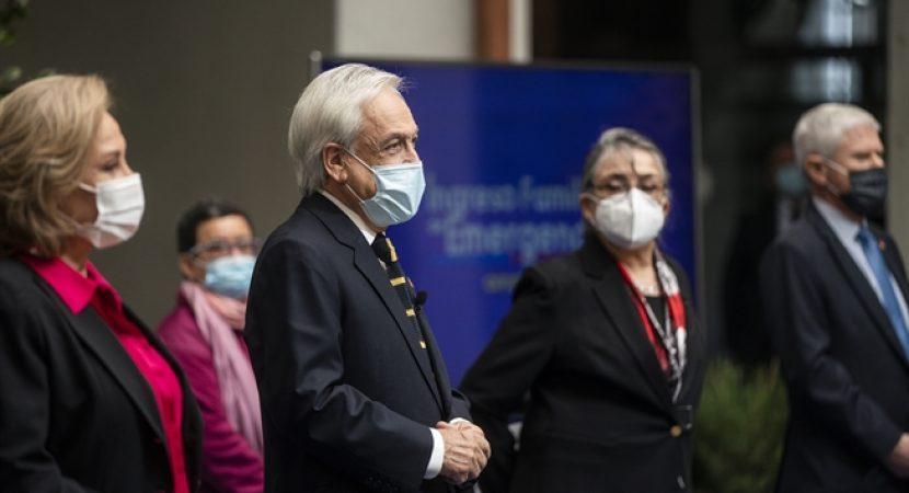 Presidente Piñera da inicio al pago de IFE Ampliado que beneficiará a 13 millones de personas