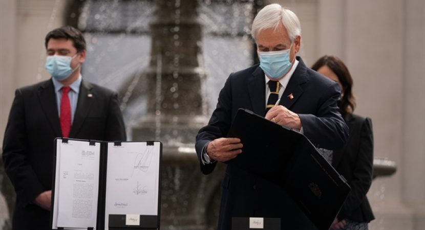 Presidente Piñera presenta reforma al Código Procesal Civil y al proceso de nombramiento de jueces
