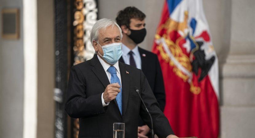 Presidente Piñera anuncia el fortalecimiento del Ingreso Familiar de Emergencia para llegar a 13 millones de personas