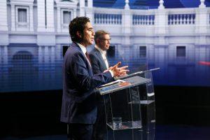 Primer debate presidencial con candidatos de Chile Vamos marca diferencias entre candidatos
