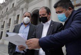 Díaz invita a Piñera a abordar todos los problemas y no sólo de orden público en provincias de Biobío y Arauco
