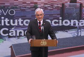 Presidente Piñera da inicio al proceso para la construcción del nuevo Instituto Nacional del Cáncer